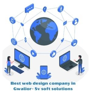 Low cost web design company in Gwalior   SV soft solutions