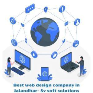 Best Website Design cost in Jalandhar @Rs-2999 | SV soft solutions