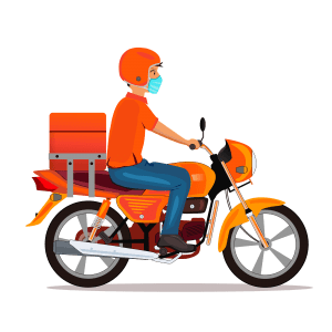 Swiggy Clone app Delivery boy