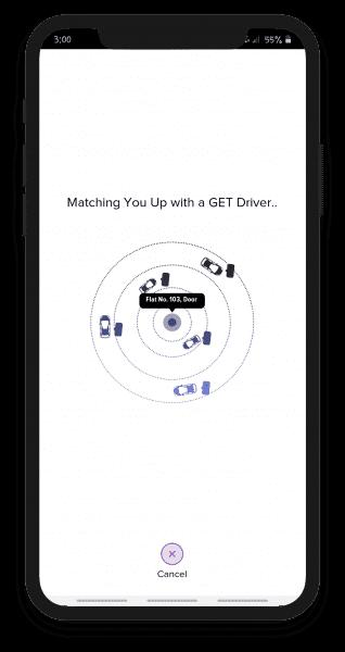 Uber type App script