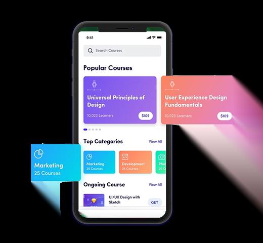 udemy clone app development